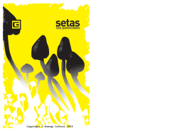 "Folleto ""Setas"" - Energy Control"