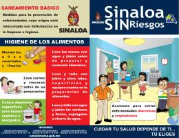 folleto de saneamiento básico