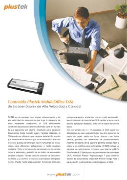 Contenido Plustek MobileOffice D28
