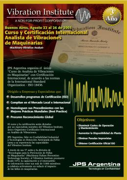 JPS folleto curso vib¥