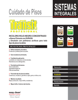 FOLLETO TRANSIT.cdr - Easy Clean Internacional