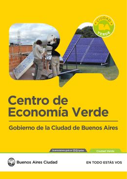 ANEXO 1: Folleto Centro de Economía Verde