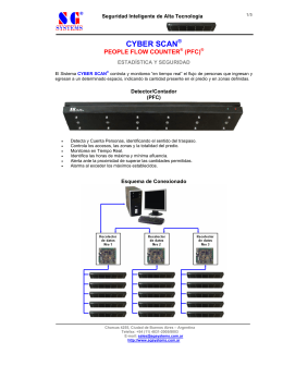 Folleto CYBER SCAN