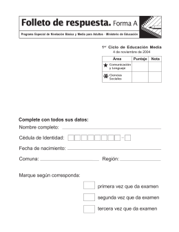 folleto social 1ºA