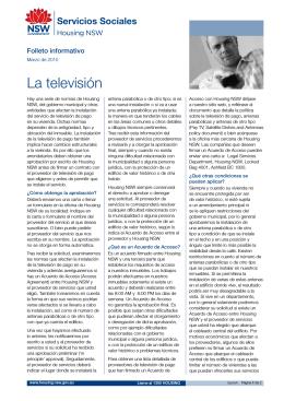 Television - Spanish