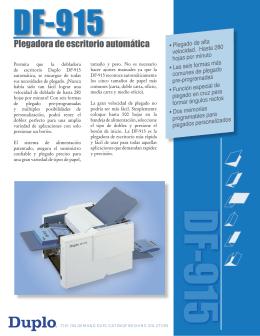 DF-915 Brochure_SP_1007SL.indd