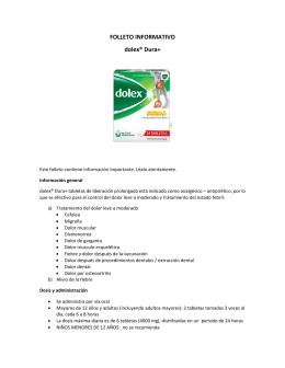 Lea el folleto informativo de este producto