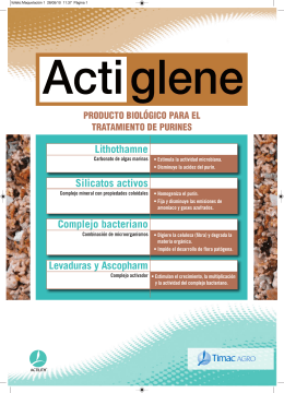 folleto actiglene