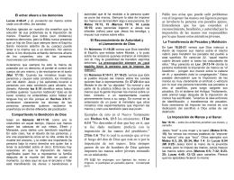 DCox: La Imposición de Manos (folleto)