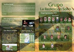 folleto interior - La Redencion Sofro