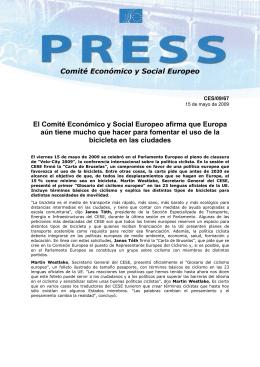 Comité Económico y Social Europeo