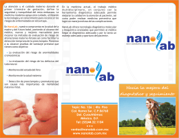 nanolab folleto