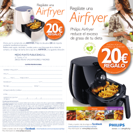 AIRFRYER FOLLETO GENERICO