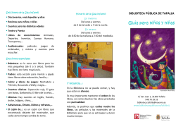 FOLLETO infantil castellano