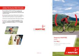 Seguros MAPFRE, el seguro que protege al ciclista y la bicicleta ver