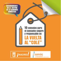 """LA VUELTA AL """"COLE"""" - Ayuntamiento de Madrid"""