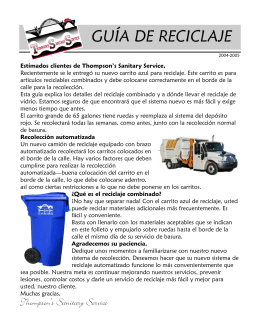 Spanish Recycling Guide pdf