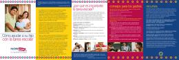 Version de folleto: Cómo ayudar a su hijo con la tarea escolar