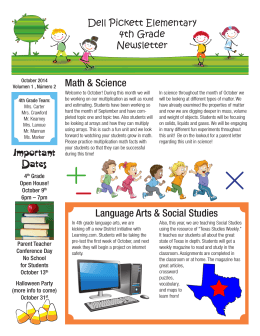 Math & Science Language Arts & Social Studies