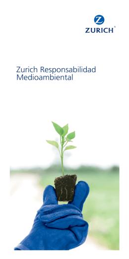 Folleto seguro de responsabilidad medioambiental y civil