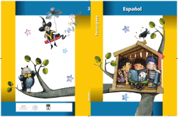 Español. Tercer grado - Subsecretaría de Educación Básica