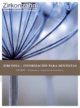 zirconia – información para dentistas