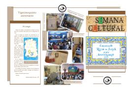 Triptico Semana Cultural 2011-12