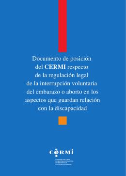 folleto con posicionamiento del CERMI en formato pdf