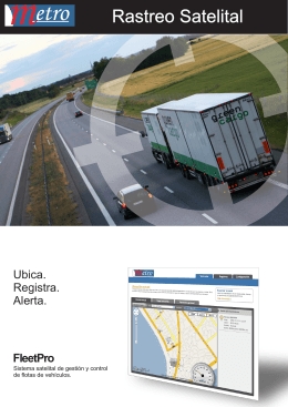 folleto gps