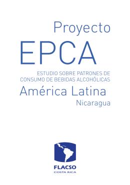 Folleto Proyecto EPCA Nicaragua