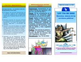 Folleto 4 ley 734 de 2002