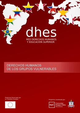 Derechos Humanos de los Grupos Vulnerables. Manual