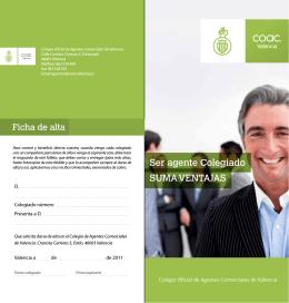 Descarga del folleto  - Coac. Colegio oficial de agentes