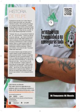 Descargue el cartelle de Felipe (PDF/1Mb)