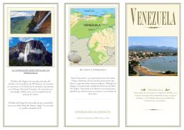 Folleto de VENEZUELA
