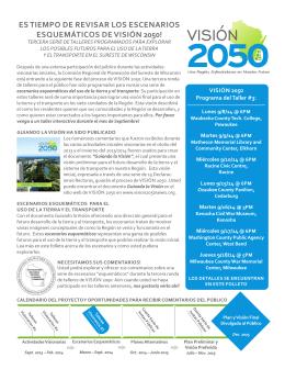 VISIÓN - Vision 2050