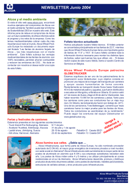 NEWSLETTER Junio 2004