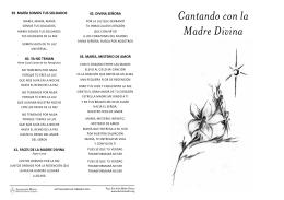 Cantando con la Madre Divina
