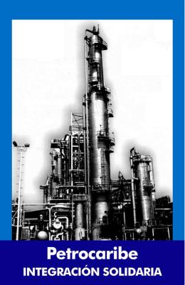 Folleto Petrocaribe CooperaciŠn