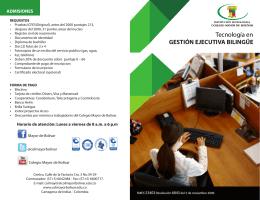Descargar Folleto + Info - Colegio Mayor de Bolívar