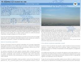 folleto invierno y calidad de aire