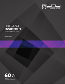 LIDERAZGO INSIDEOUT - Universidad Adolfo Ibáñez