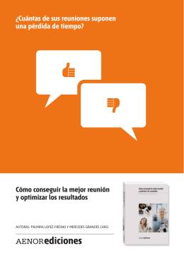 folleto promocion libro reuniones - Palmira López