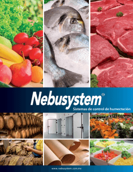 Folleto general Sector Alimentación