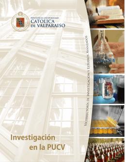folleto sobre Investigación en la PUCV - vriea