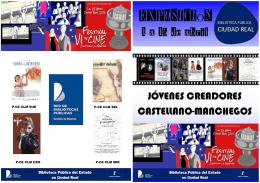 folleto de la exposición - Red de Bibliotecas de Castilla