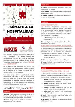 FOLLETO ACTIVIDADES PJV 2015x