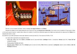 folleto familias La Odisea