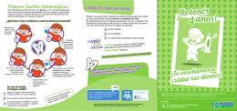 folleto odontologia infantil