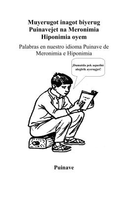 Meronimias e Hiponimias